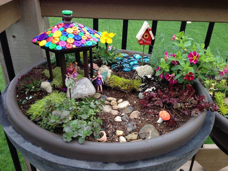 116 Best Images About Fairy Garden Ideas On Pinterest Gardens