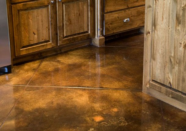 Diy Acid Stain Concrete Floors Floor Refinishing And