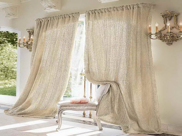 Muslin Curtains Ideas With Regard To Minimal House Is Not