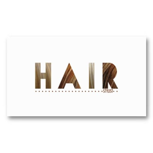 Hair Stylist Todays Best Award Business Card  Stylists Hair stylists and Paper