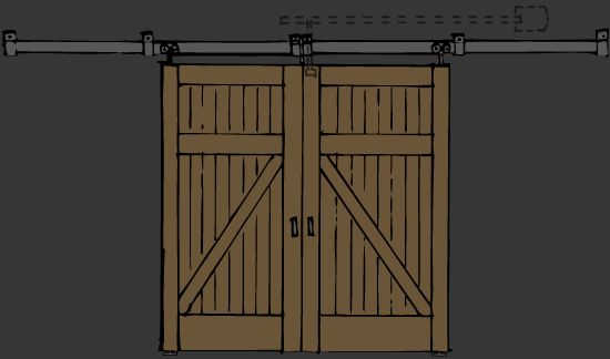 Best 34 Barn Doors~ Cool Doors Images On Pinterest