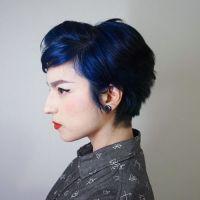 Best 25+ Midnight blue hair ideas on Pinterest | Midnight ...
