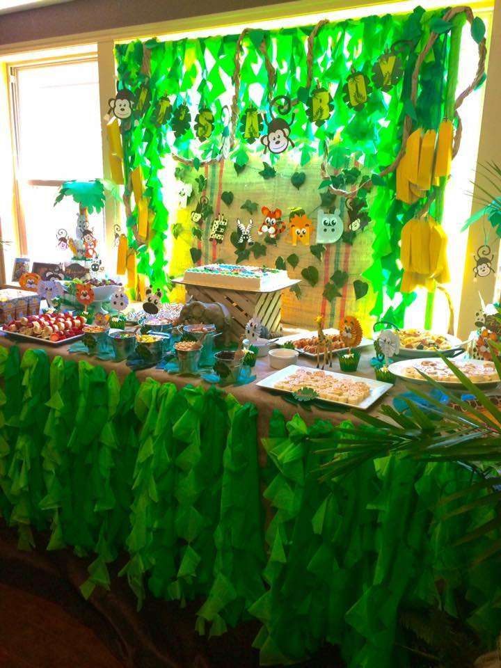 1000 ideas about Jungle Baby Showers on Pinterest  Safari Baby Showers Jungle Theme Baby