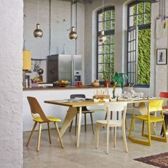Living Room Flooring Ideas Uk Home Goods Rugs Cool Space Full Of Vitra Chairs - Tipton, Basel, Jill ...
