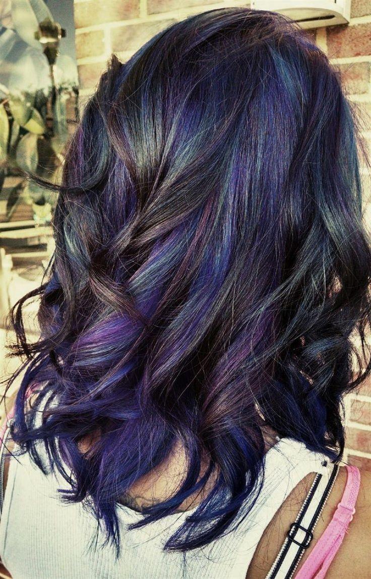 25 Best Ideas About Oil Slick Hair Color On Pinterest