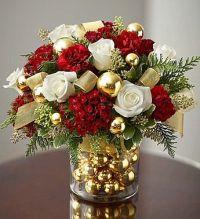 Best 25+ Christmas floral arrangements ideas on Pinterest