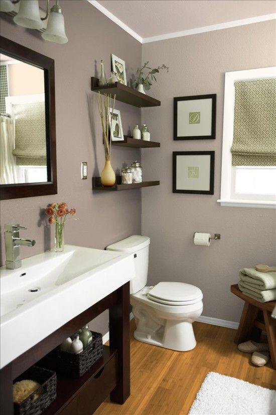 Guest bath ideas  love the colors esp wall color  Future