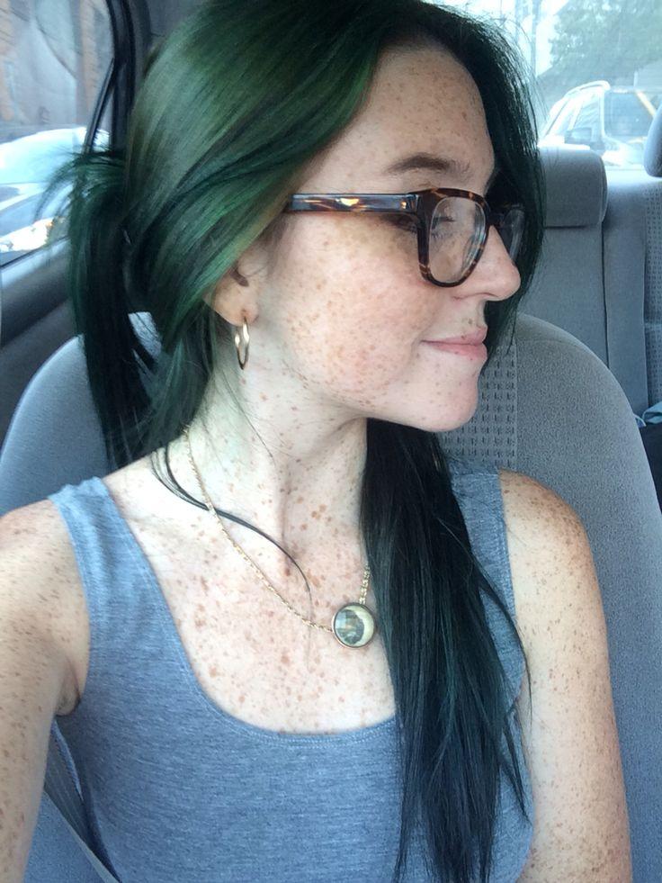 Forest Green Hair Medium Ash Brown Manic Panic