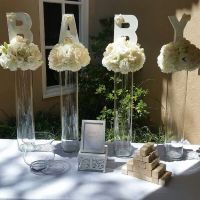 25+ best ideas about Baby shower centerpieces on Pinterest