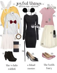The White Rabbit Costume Ideas