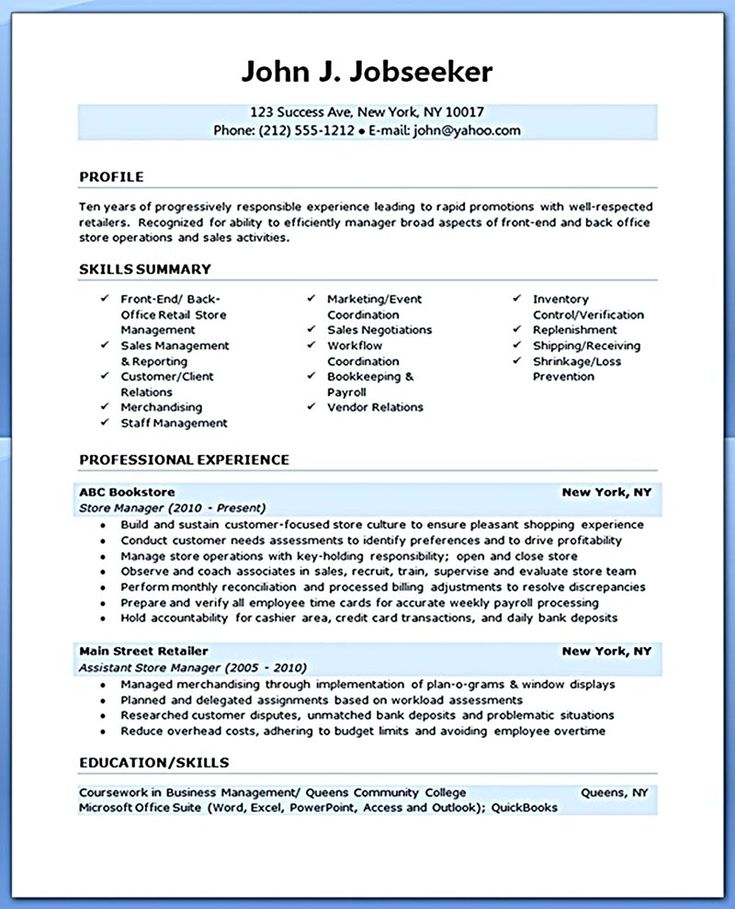 Examples Of Resume Summary Sample Resume Summary For It