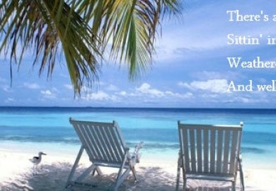 Kenny Chesney Lyrics Old Blue Chair