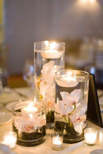 Flowers Centerpiece Ideas Wedding Without