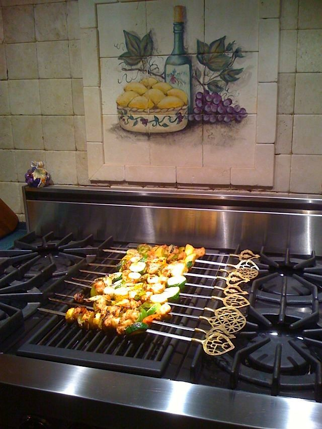 grill kitchen ceiling light fixture stove new