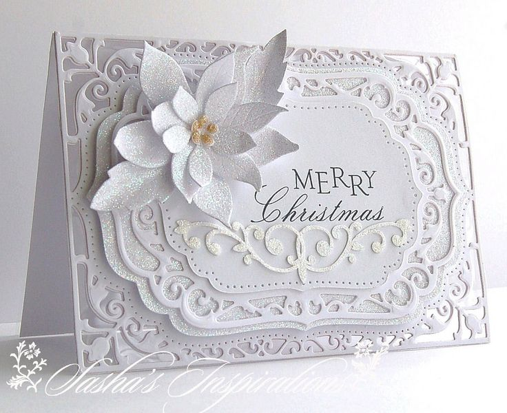 379 Best Images About Christmas Cards Poinsettia On