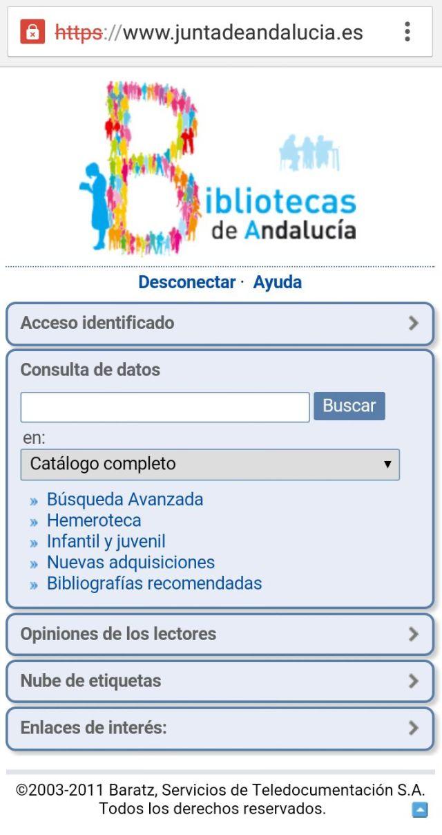 Mopac - Red de Bibliotecas Públicas de Andalucía