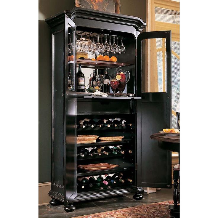 Hooker Furniture Indigo Creek Wine Cabinet  Wine and
