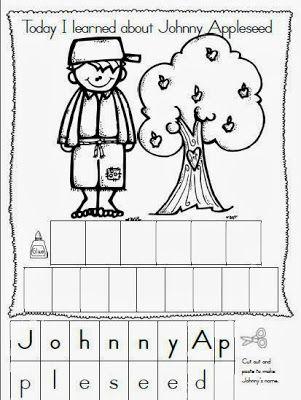 Maggie's Kinder Corner: Happy Birthday Johnny Appleseed