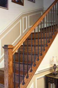 Wood Stair Railings Interior. Full Size Of Interior Good ...