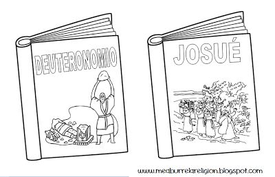 Libros de la Biblia colorear. Books of the Bible coloring