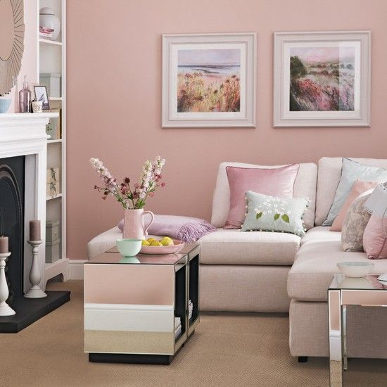 s explore pink living rooms