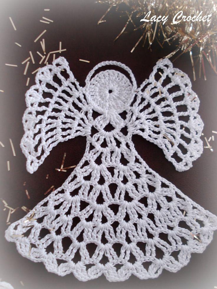 Cute Stitch On Side Wallpaper Crochet Angels Angel And Crochet On Pinterest