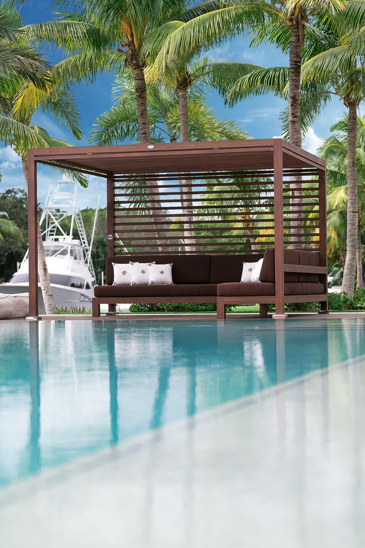 17 best ideas about Pool Cabana on Pinterest