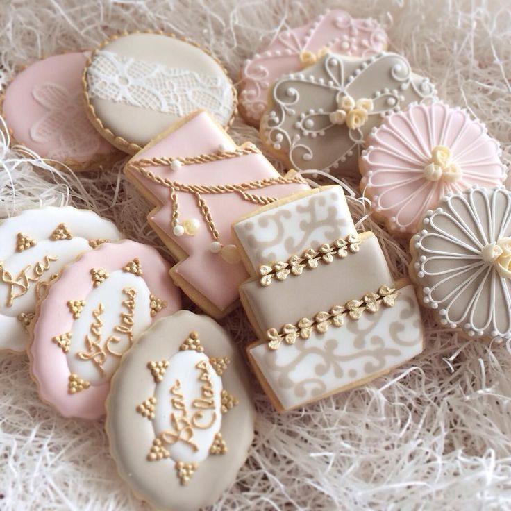 25 best ideas about Wedding Cookies on Pinterest  Wedding shower cookies Engagement cookies