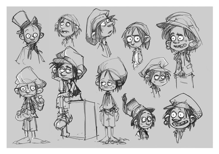 17 Best images about Cartoon Model Sheets and Design on