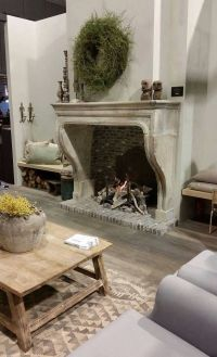 1000+ ideas about Country Fireplace on Pinterest | Cottage ...