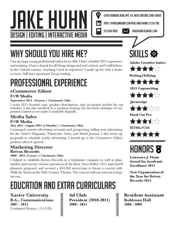 graphic artist resume examples - Best Resumes Examples
