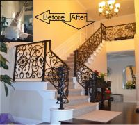 17 Best images about Choosing Rod Iron Stair Railing ...