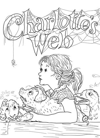 17 Best images about Coloring Pages (Charlotte's Web) on