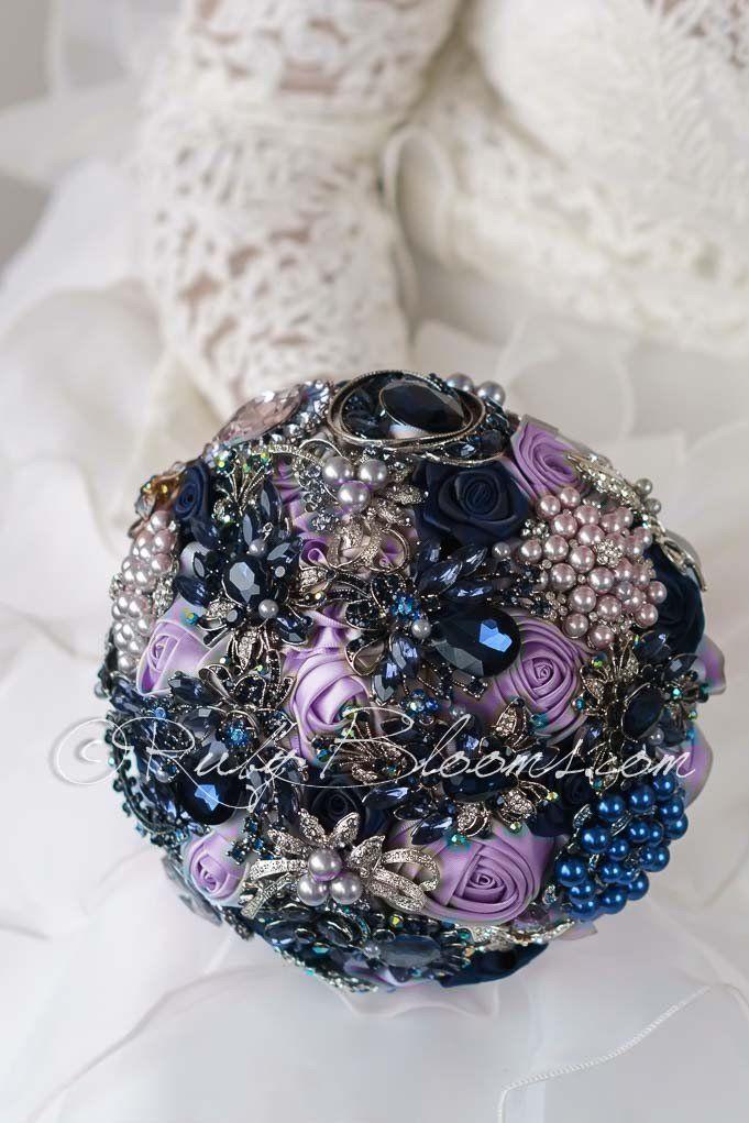 1000 ideas about Purple Navy Wedding on Pinterest