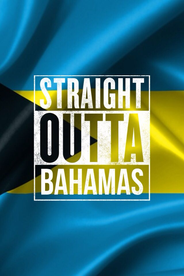 The Bahamas Flag wThe Straight Outta meme app  National