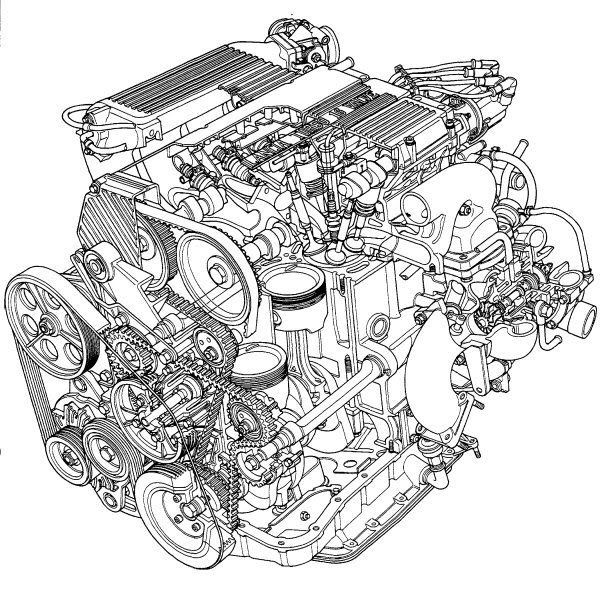 evo engine diagram