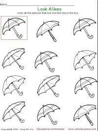 Free Printable Visual Perceptual Worksheets. Worksheets ...