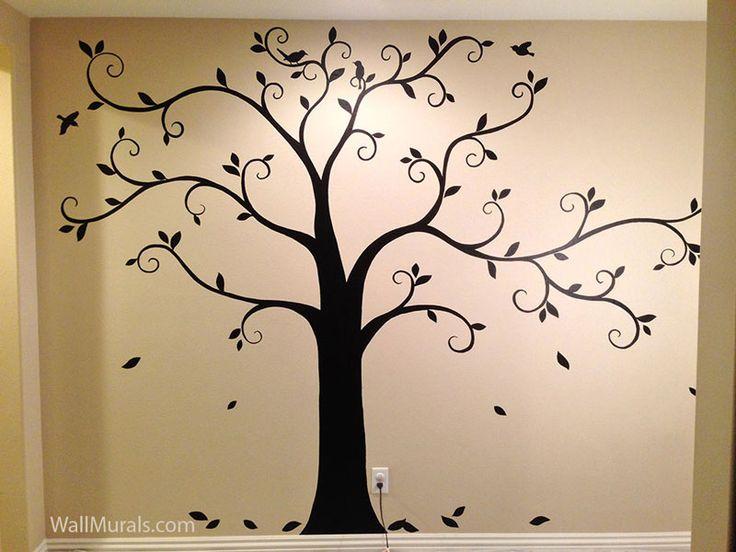 25+ Best Ideas about Tree Murals on Pinterest