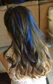 1000 ideas blue hair highlights