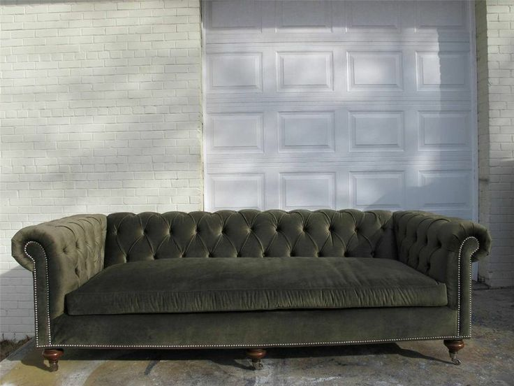 best 3 seater sofa designs feather cushion pads for sofas ralph lauren tufted chesterfield - luxury green ...