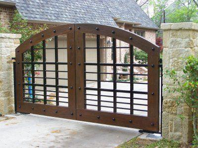 Swing Gates Back Yard Treasures! Pinterest Entry Gates Nice