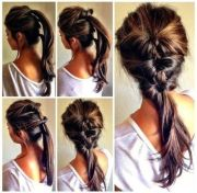 chic diy cute boho hairstyle