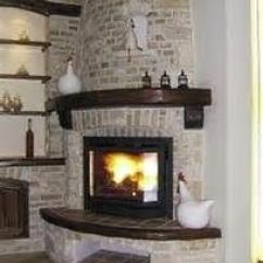 Living Room Arrangement Ideas With Corner Fireplace Diy Shelves For 2 Gas Fireplace, Fireplaces And On ...