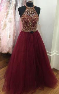 25+ best Burgundy prom dresses ideas on Pinterest   Prom ...