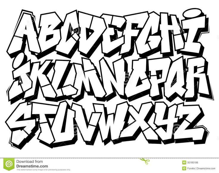 Best 20+ Graffiti font ideas on Pinterest
