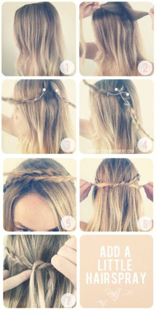 High Heels on Wheels: Hairstyles which will make girls to envy you.