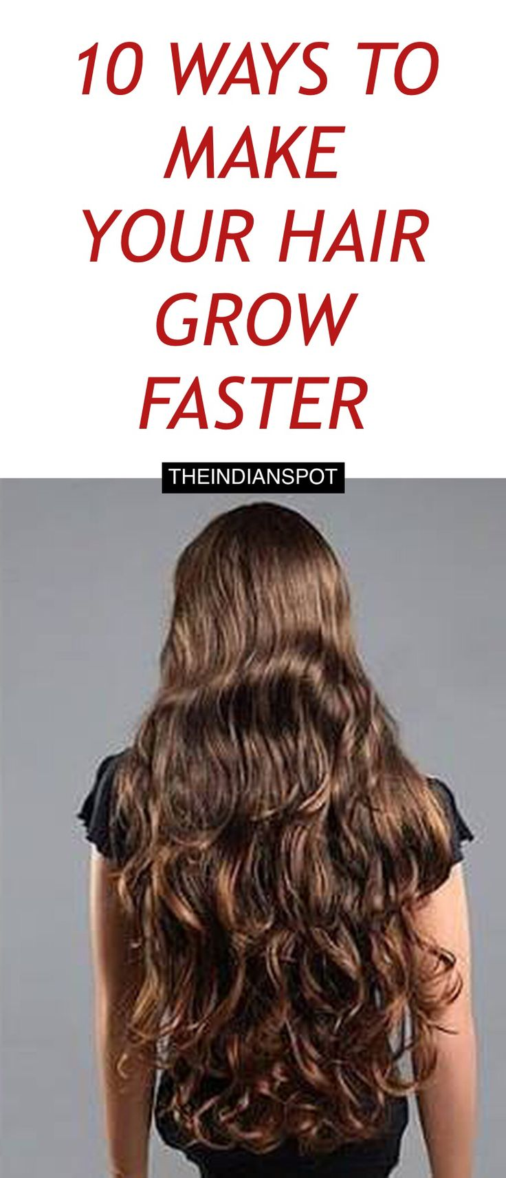 how to make my hair grow faster