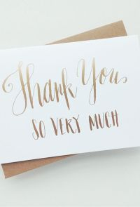 17 Best ideas about Wedding Thank You Cards on Pinterest ...