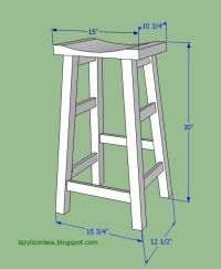 Diy Wooden Bar Stool Plans - WoodWorking Projects & Plans