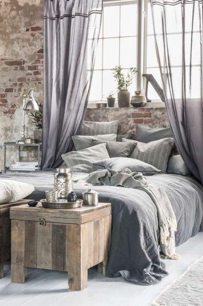 industrial grey bedroom 25+ best ideas about Feminine bedroom on Pinterest | Girls